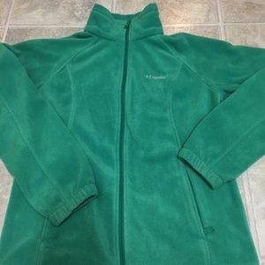Columbia jacket mint green
